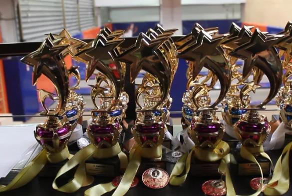 XVIII соревнования «На Батуте». Видео.