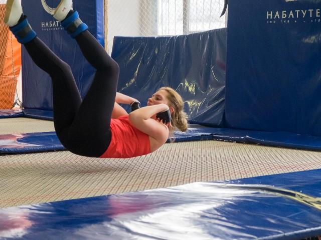 фитнес на батуте